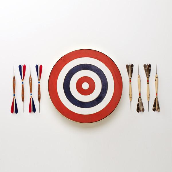 Belgium Dart Board! I love this:)