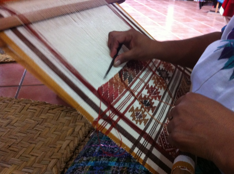 Backstrap Loom Weaving!