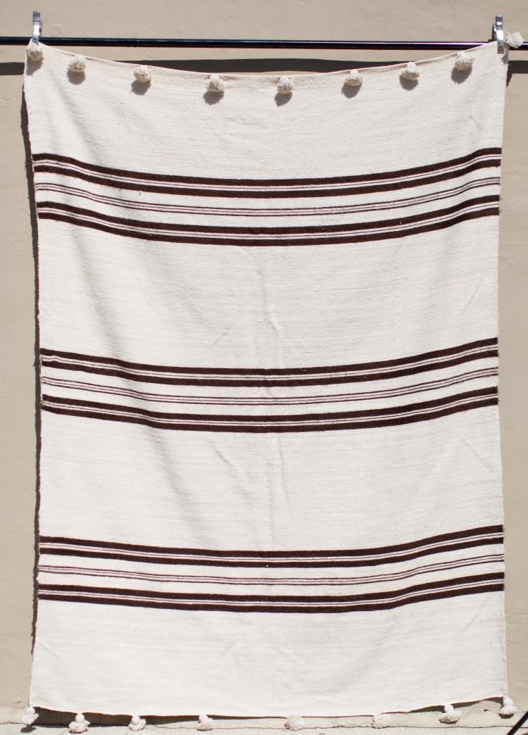 Maven's Version!  Our 'QUEENIE' Berber Wool Blanket!