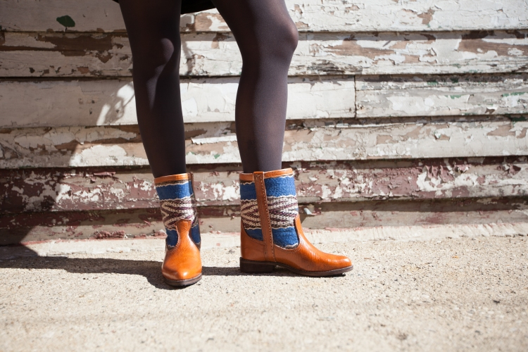 MAVEN COLLECTION BLUE BERBER BOOTS   ||  SHOP HERE