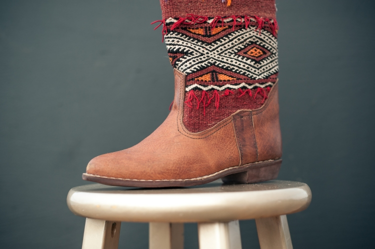 MAVEN COLLECTION KILIM BOOTS   || Handmade in Morocco