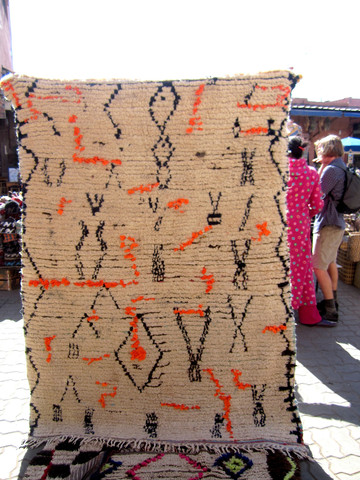 Rug in the souk