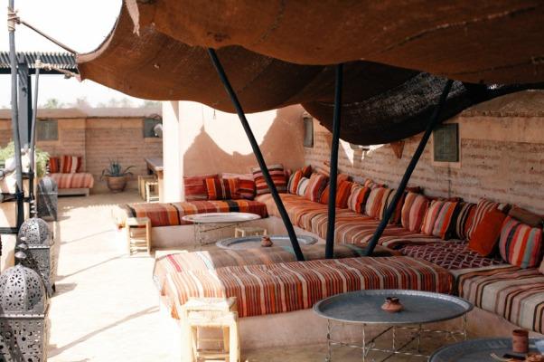 Riad - outdoor space 1