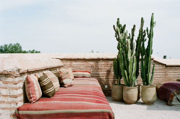 Riad - outdoor space 3
